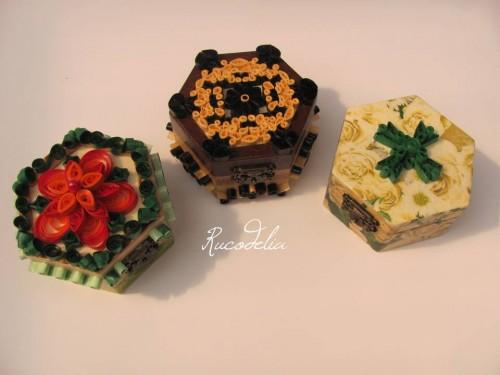 Cutii bijuterii Rucodelie
