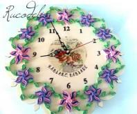 ceas quilling rucodelie handmade