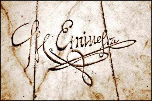 Eminescu-semnatura