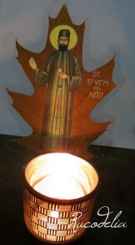Candela Sfantul Efrem cel Nou