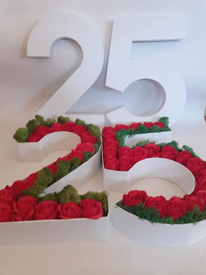 numere decorate
